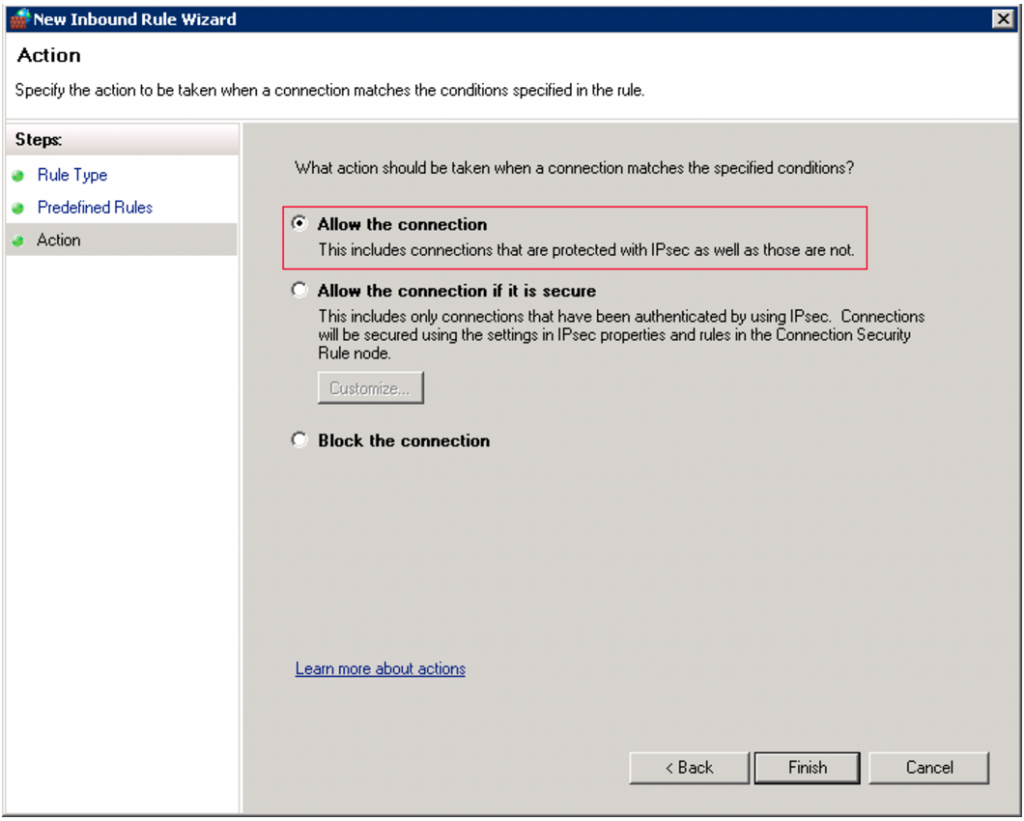 How to enable WinRM - Step 12